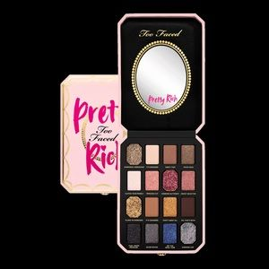Pretty rich by too faced eyeshadow palette.